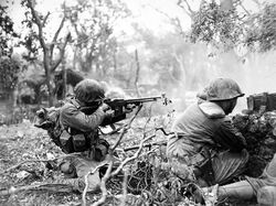 Marine Suppressive Fire, Okinawa 1945