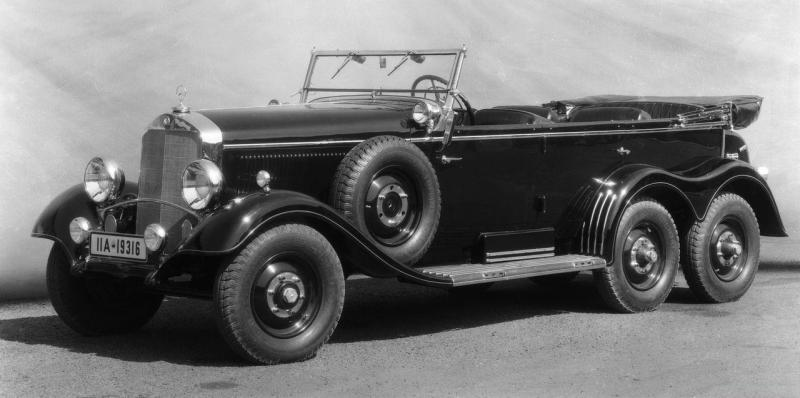 Mercedes benz w31 typ g4 world war ii wiki fandom for Mercedes benz staff