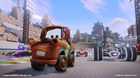 Disney Infinity Toybox Mode racing