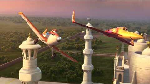 DISNEY'S PLANES Clip - 'Dusty Flies To The Taj Mahal'