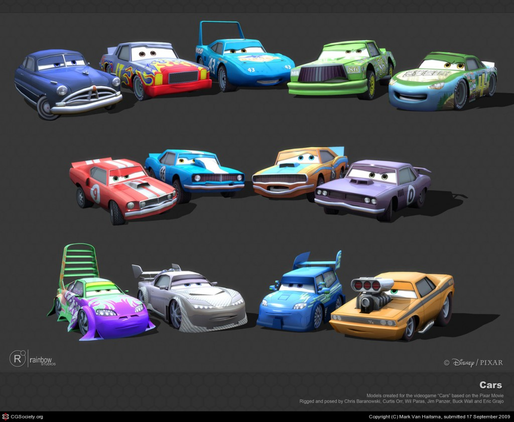 Cars The Videogame 3