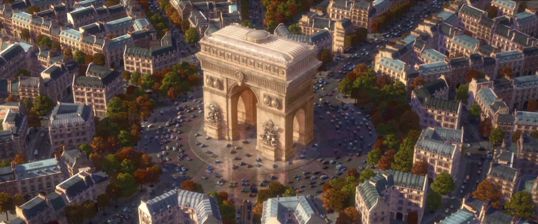 arc de triomphe world of cars wiki fandom powered by wikia. Black Bedroom Furniture Sets. Home Design Ideas