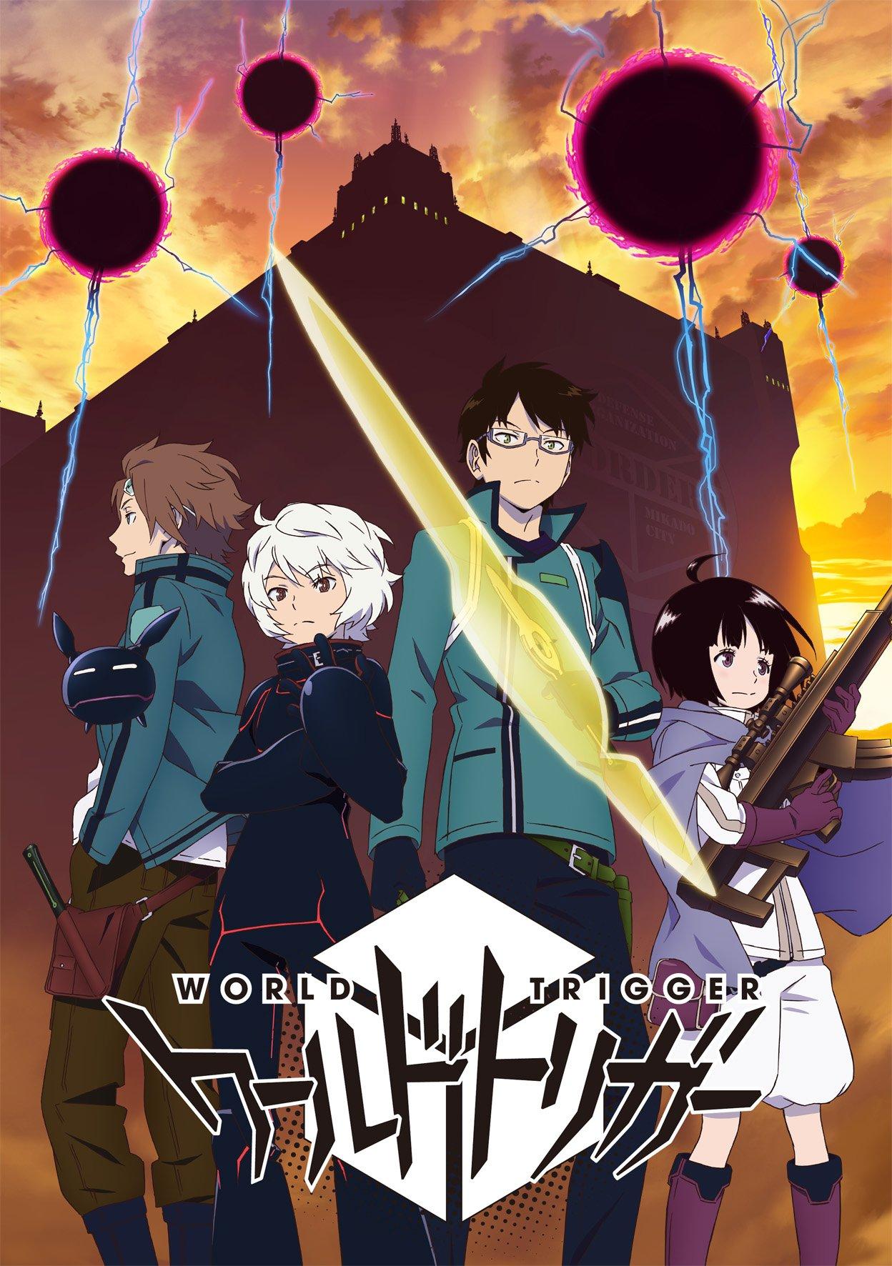 Anime World Trigger Wiki Fandom Powered By Wikia