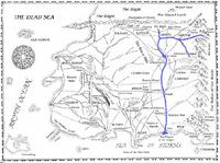 River Erinin map