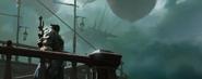 Legion cinematic Varian and the gunship scene 13