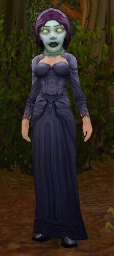 Costumed Orphan Matron
