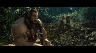"WARCRAFT Movie Clip ""Durotan And Orgrim Discuss Siding With The Humans"" - Toby Kebbell, Rob Kazinsky"