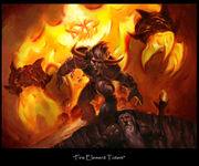 Fire elemental totem
