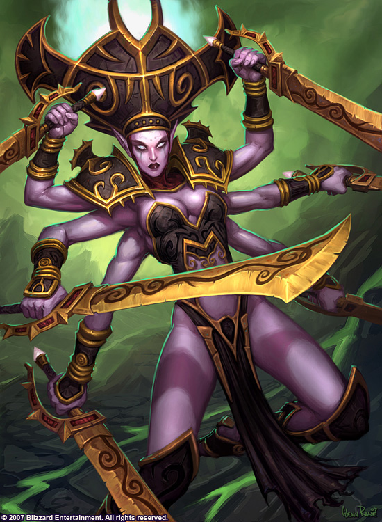 I think Shivarra is probably the most beautiful art I have ever seen.