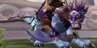Armored Blue Wind Rider