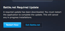 Battle.net app-Beta-Battle.net Required Update