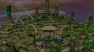 Illidan entering the Tomb