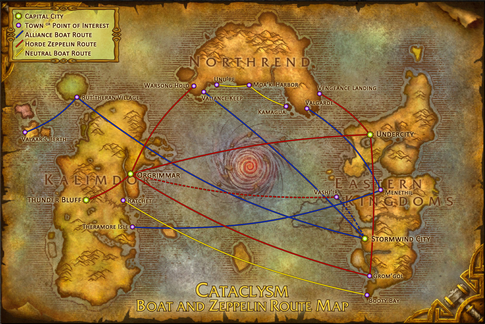 Vanilla Wow Travel Guide
