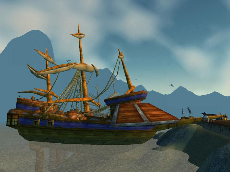 Theramore Isle Docks Sparrow Theramore Isle