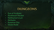 Dungeonslist