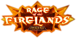 Rage of the Firelands logo early