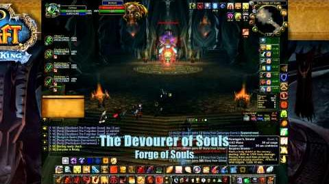 Paladin Tanking Heroic Forge of Souls - World of Warcraft