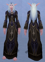 Robes of Novos, Snow Background, NE Female