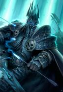 Lich King Magazine Art