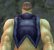 Dark Leather Cloak, Stone Background, Human Male