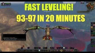 WoW How to level up fast - LEVEL 93-97 IN 20 MINUTES (without flying in Draenor skill)