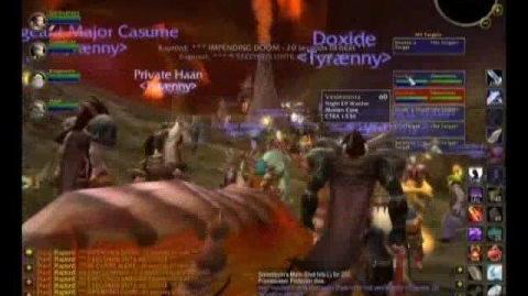 WoW Tyraenny Kill Molten Core - Lucifron