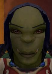 Flimsy Female Orc Mask