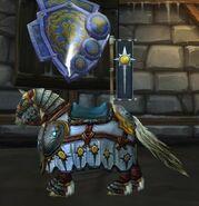 Crusader's White Steed