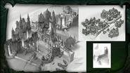BlizzCon Legion Suramar city concept art