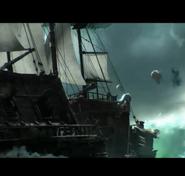 Legion cinematic Varian and the gunship scene16