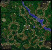 King Arthas Map