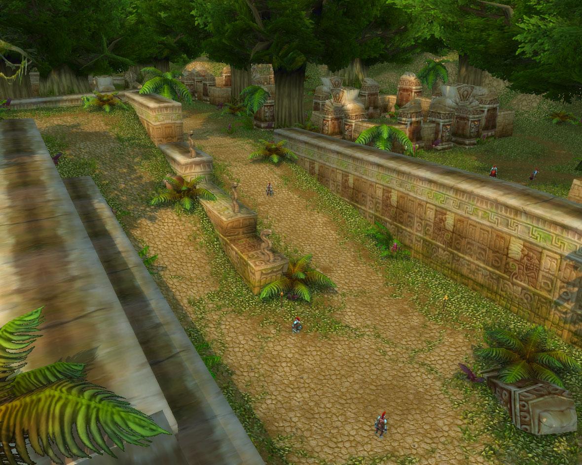 World of Warcraft bloodscalp trolls cartoon scenes
