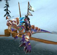 Sen'jin Valiant mounted