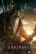 Warcraft movie poster - Gul'dan