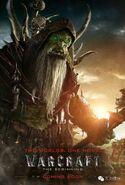 Warcraft movie poster - Gul'dan