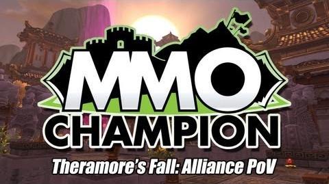 Theramore's Fall Alliance Scenario