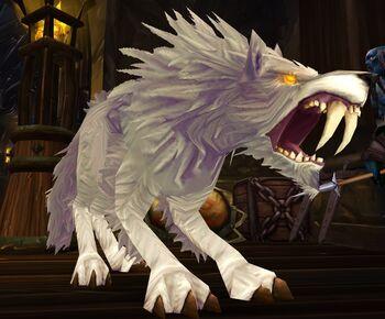 Bloodthirsty Tundra Wolf