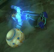 Strange Object Broken Corpse