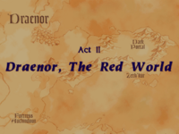 Warcraft II Beyond the Dark Portal - Act II (Draenor, The Red World)