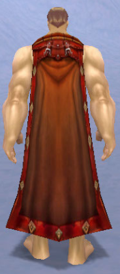 Adventurer's Cape, Snow Background, Human Male