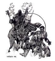 Death Knight & Skeletons