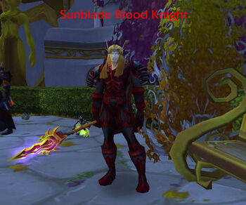 Sunblade Blood Knight