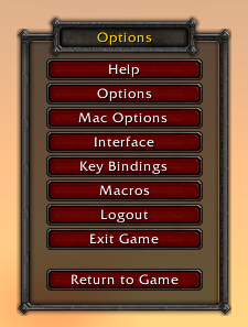 Options (Game Menu)