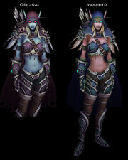 Sylvanas Windrunner High Elf by Lost In Concept