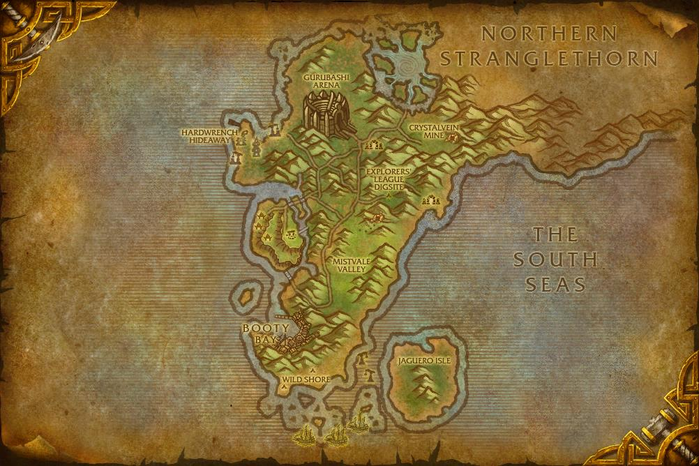 Explore the Cape of Stranglethorn | WoWWiki | Fandom ...