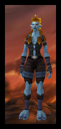 Troll Female Tattered Cloth Armor Set