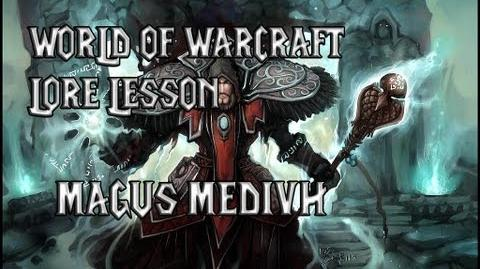 World of Warcraft lore lesson 24 Medivh