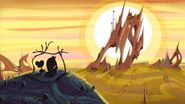 S1e16b Wander and Hater looking at the sun