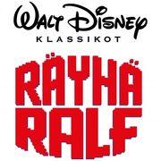 Wreck It Ralph logo Finnish