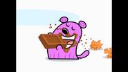 148 Tiny Eating Chocolate 3